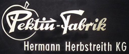 Logo Pektin-Fabrik Hermann Herbstreith KG