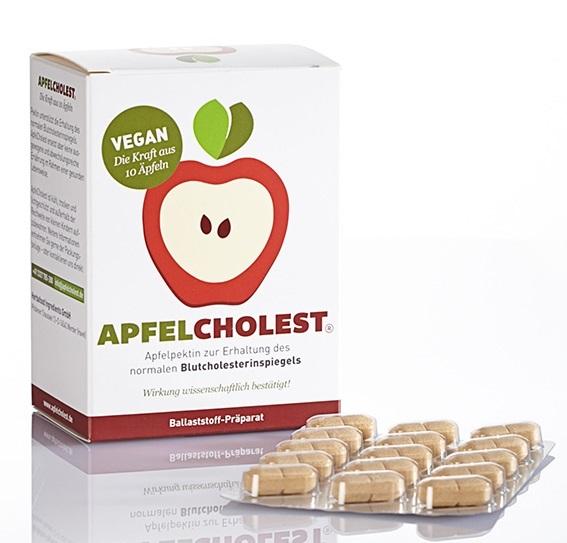 ApfelCholest Produkpackung