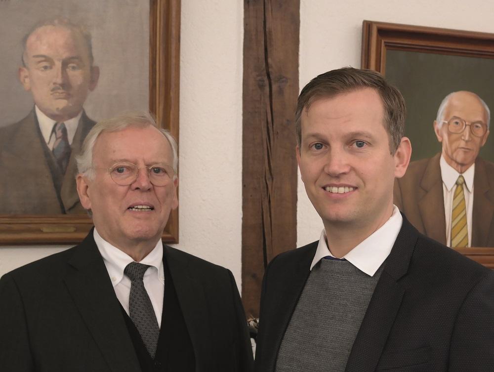 Foto Gerhard F. Fox und Sven Fox